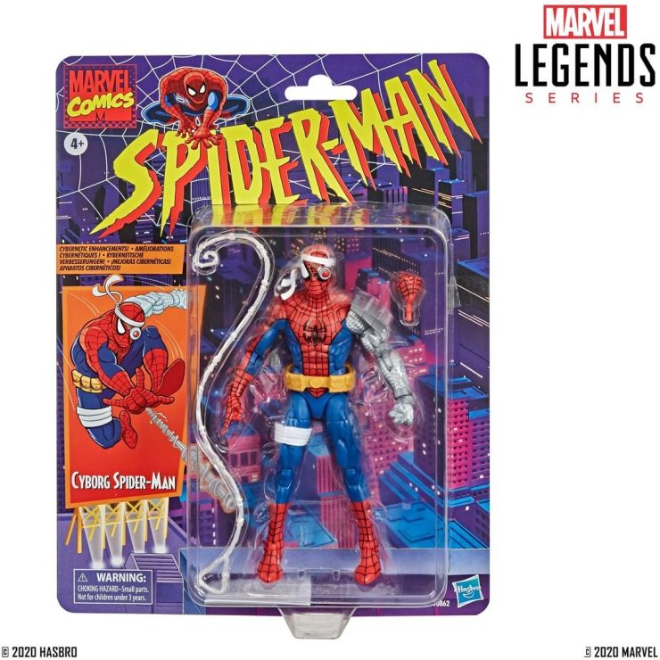 Marvel Legends Cyborg Spider-Man 1