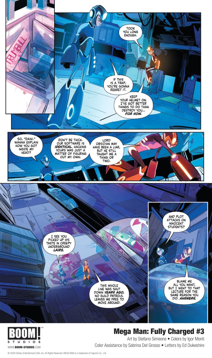 EXCLUSIVE BOOM! Preview: Mega Man: Fully Charged #3