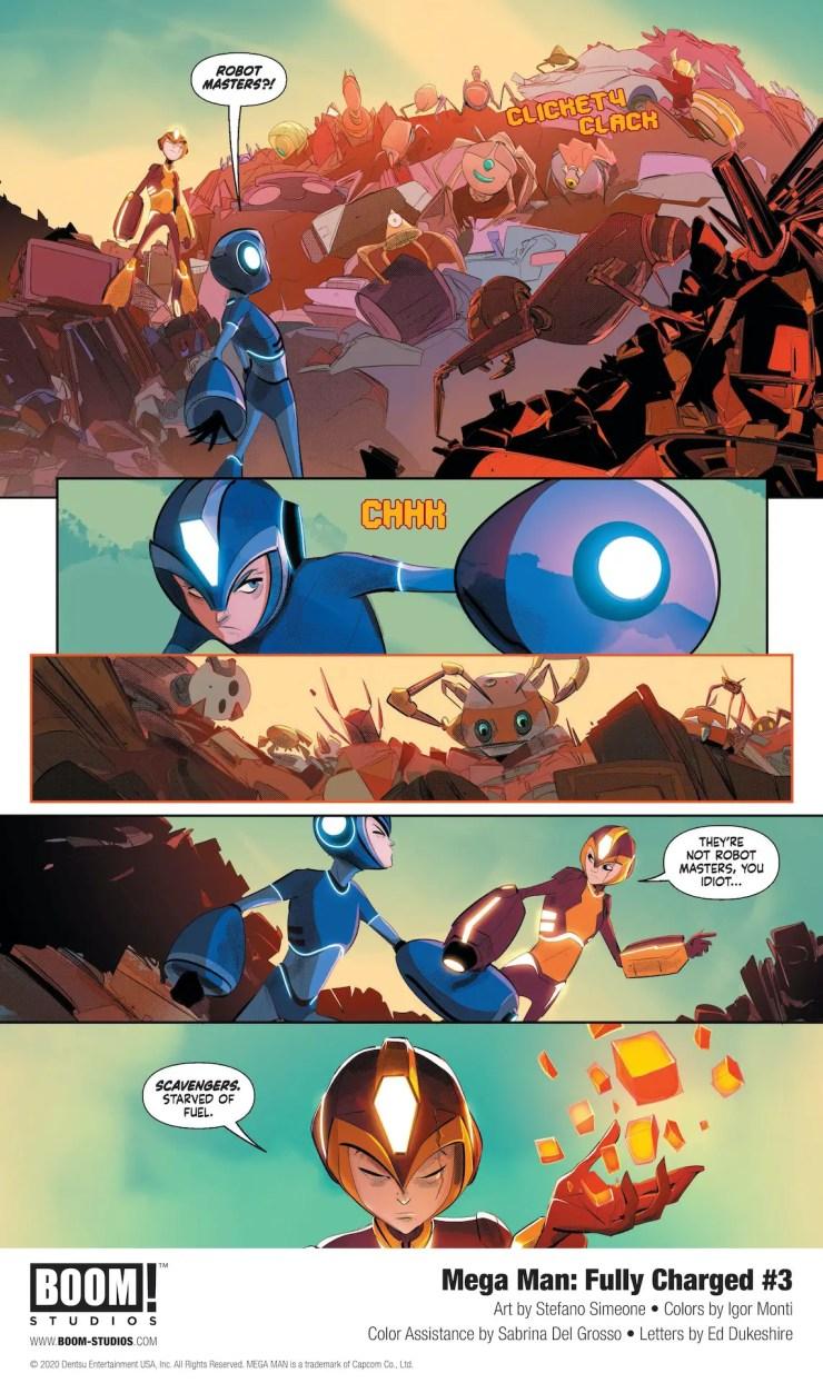 Mega Man: Fully Charged #3