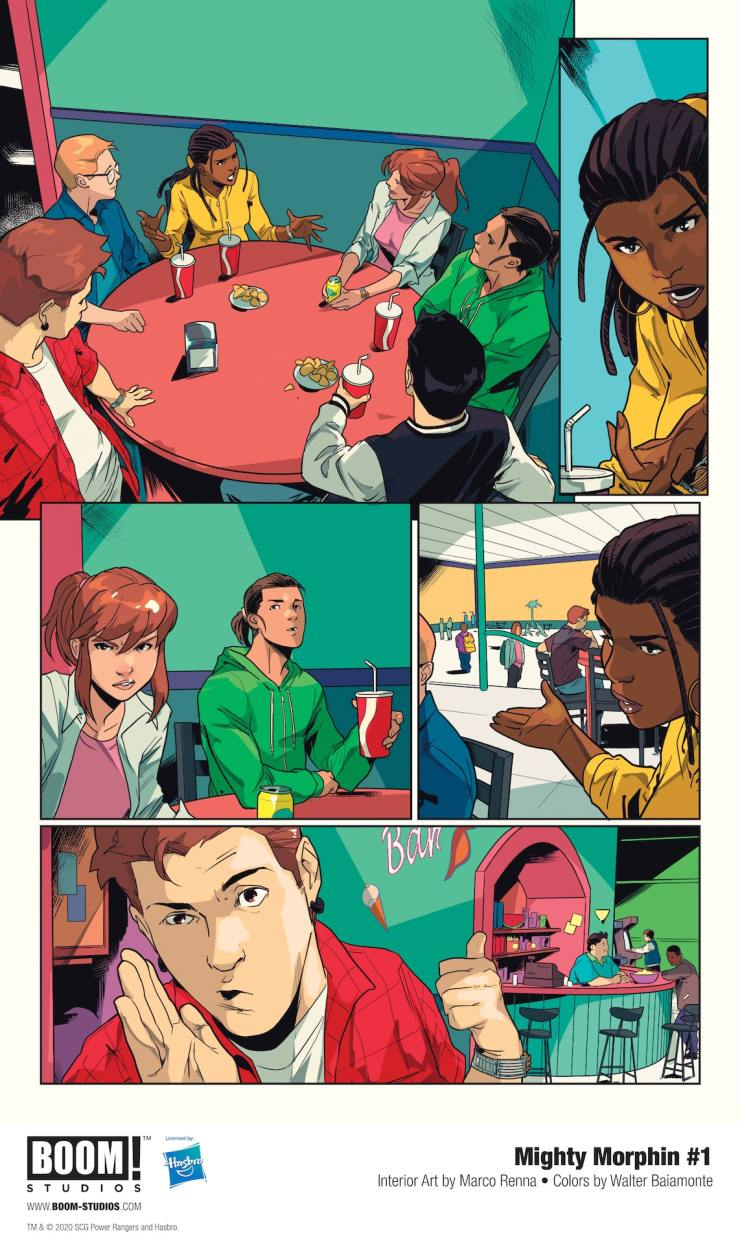 BOOM! Preview: Mighty Morphin #1
