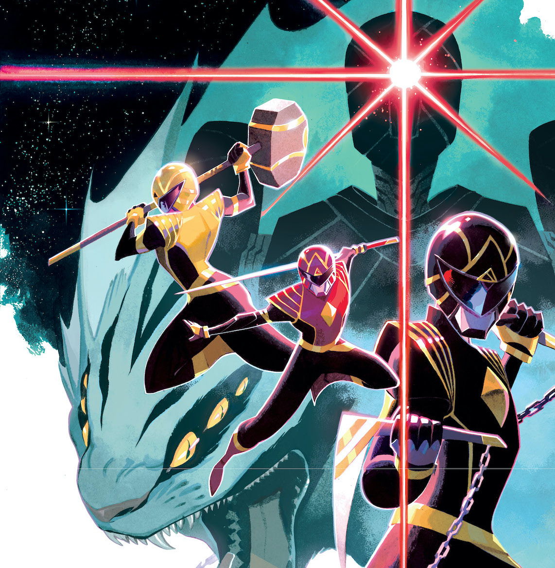 'Power Rangers' #1 review