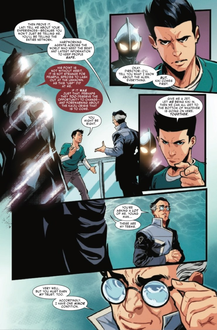 The Rise of Ultraman #3 preview