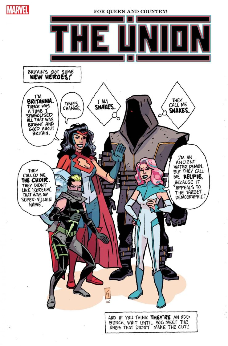 The Union variant cover
