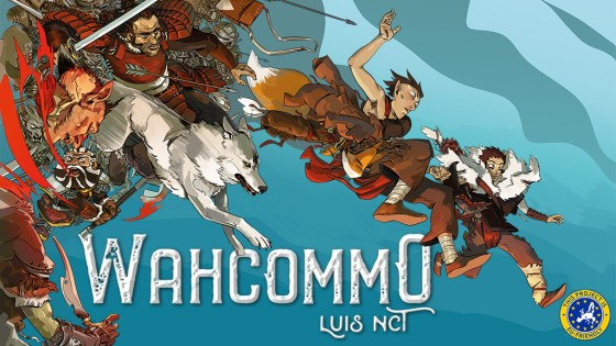 Magnetic Press Launches WAHCOMMO by LUIS NCT.