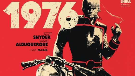 """It's my favorite series I've ever done"": Scott Snyder talks the creator-owned 'American Vampire 1976'"