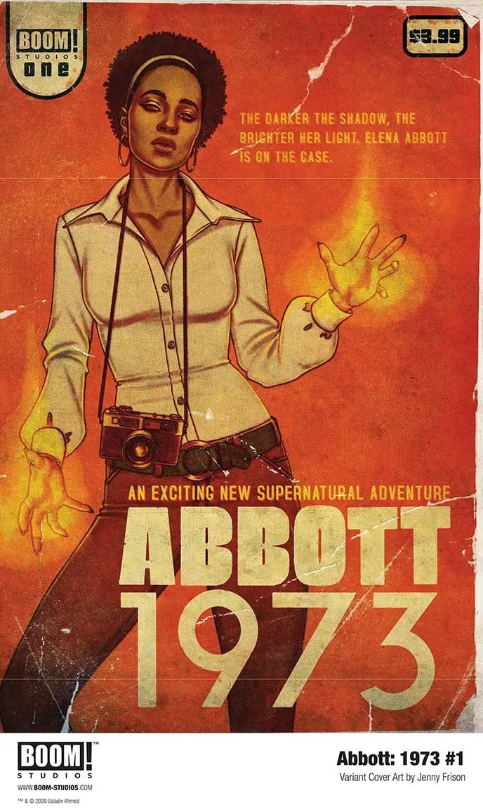 Saladin Ahmed and Sami Kivelä debut 'Abbott: 1973' in January 2021