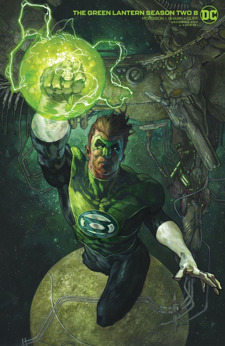 DC Preview: The Green Lantern Season Two #8