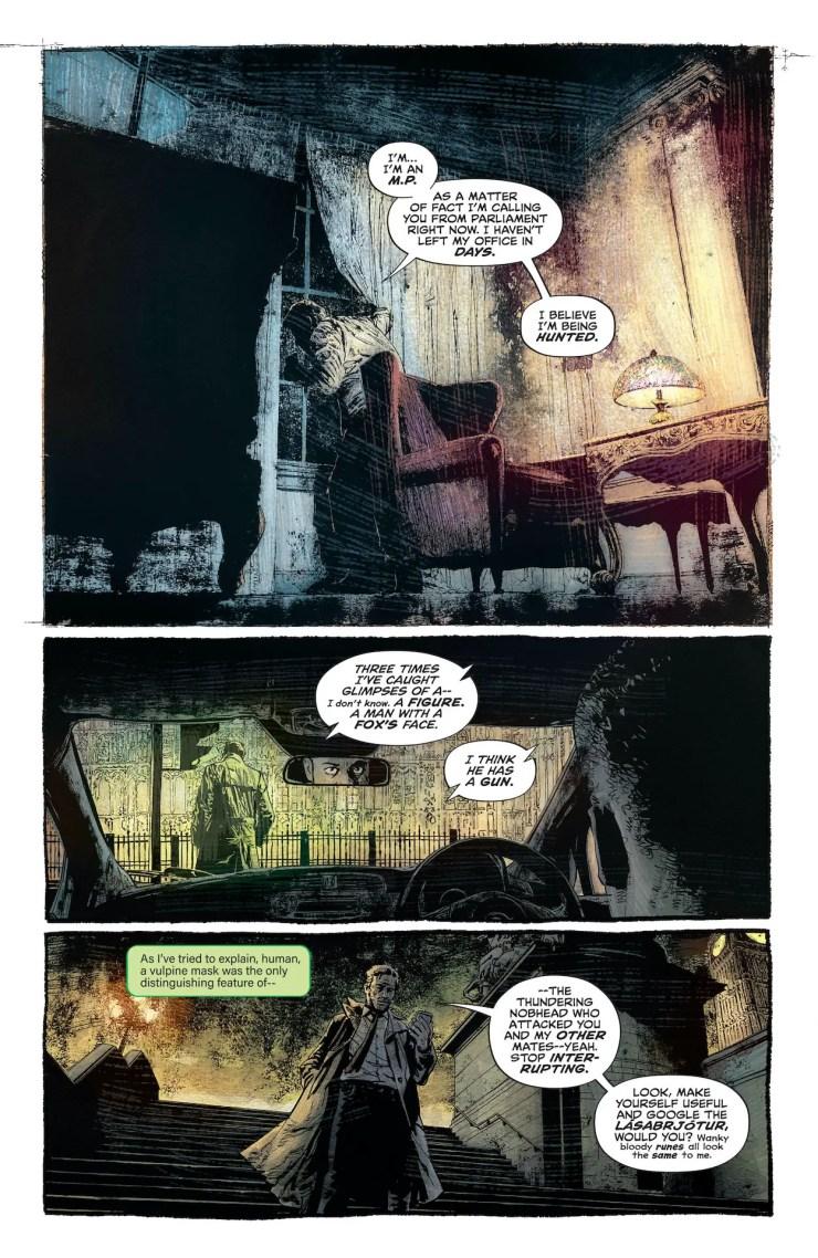 DC Preview: John Constantine: Hellblazer #11