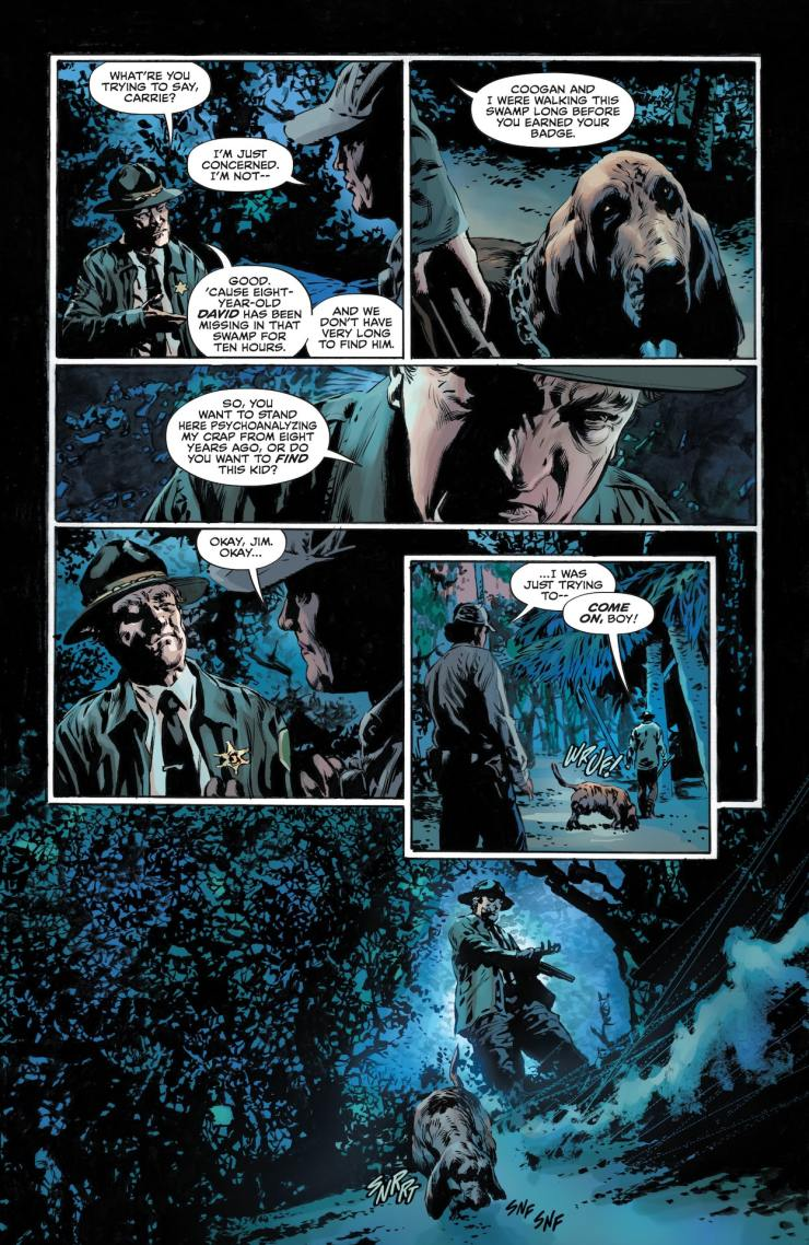 DC Preview: Legend of the Swamp Thing: Halloween Spectacular #1
