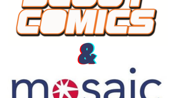 Scout Comics signs with Mosaic management division for film and TV representation