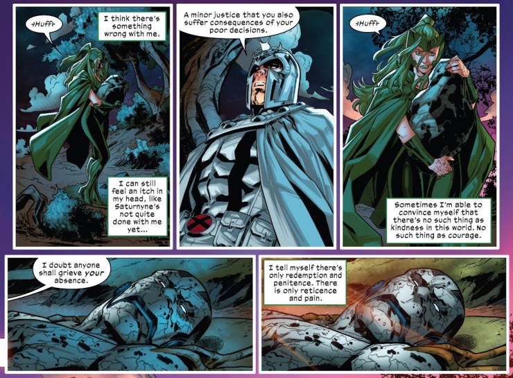 Plus, 6 eXclusive preview images from this week's X of Swords chapters!