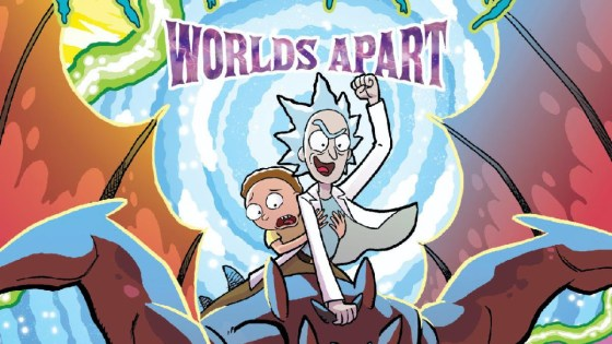 Oni Press launching 'Rick and Morty: Worlds Apart' for February 2021