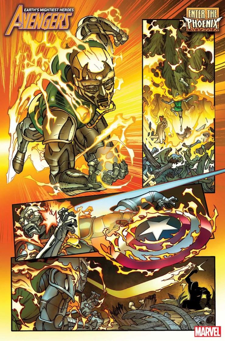 Avengers #40 ENTER THE PHOENIX!