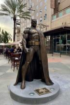 DC Comics and Burbank city team up for bronze Batman statue