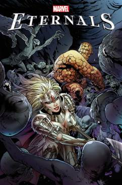Eternals #1 2021 january variant cover