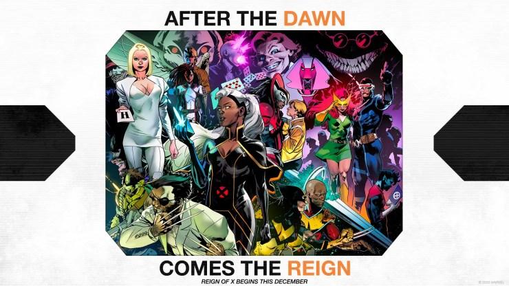 Reign of X X-men 2020 marvel comics