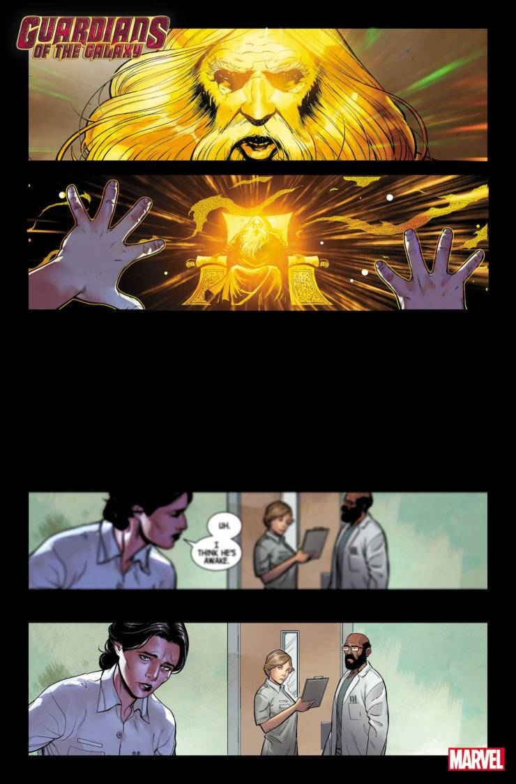 Guardians Of The Galaxy #9 first look