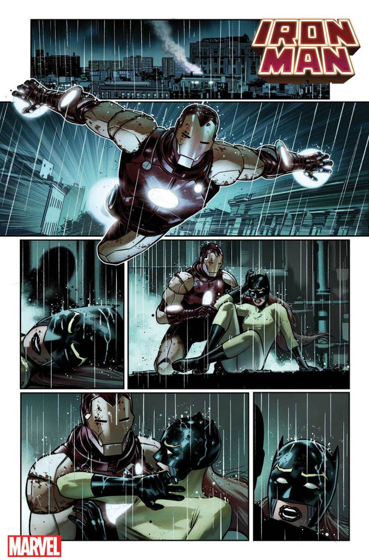 Iron Man #6 Christopher Cantwell