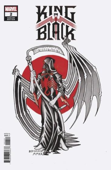 King in Black Temporary Tattoo