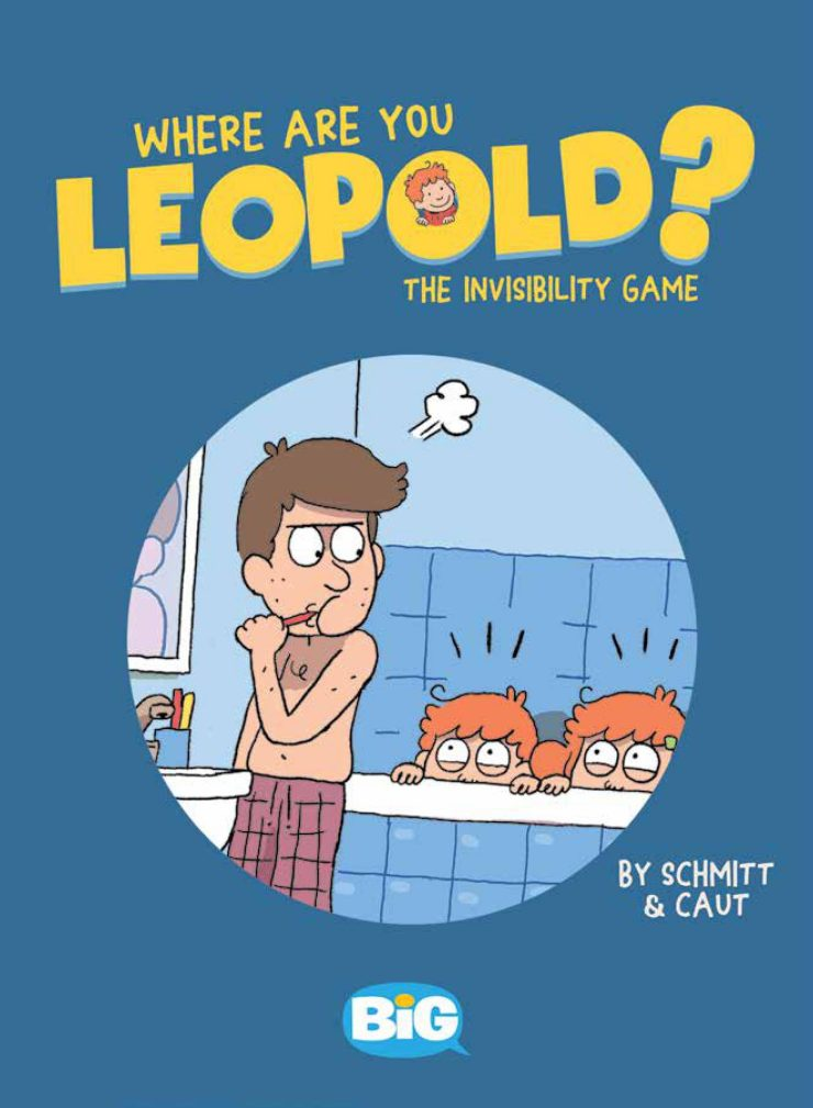 BiG Preview: Where Are You Leopold? 1: The Invisibility Game