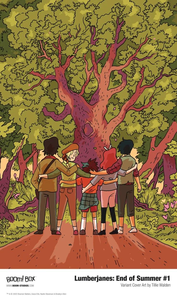 BOOM! First Look: Lumberjanes: End of Summer #1