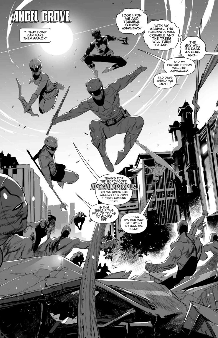 Mighty Morphin' Power Rangers/Teenage Mutant Ninja Turtles