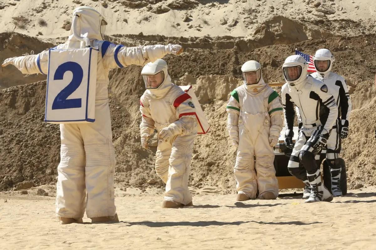 'Moonbase 8' episode 4 review: 'Visitors'