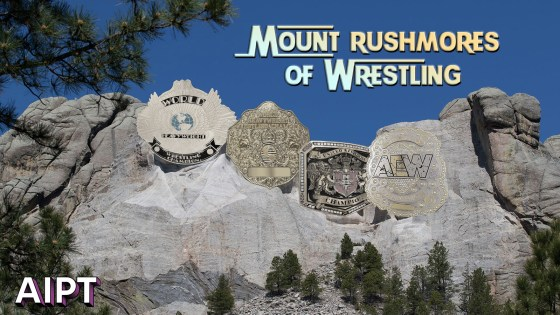 Mt. Rushmores of Wrestling: World Title belt designs