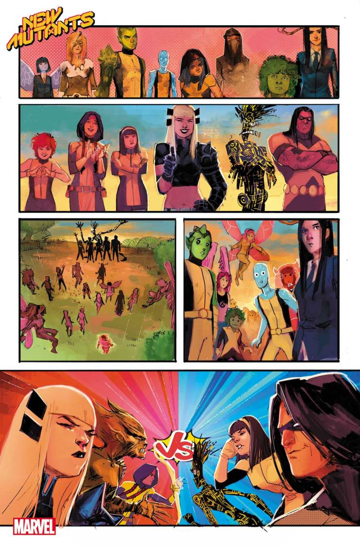 Marvel First Look: New Mutants #14