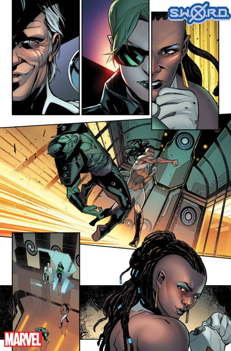 Marvel First Look: S.W.O.R.D. #1