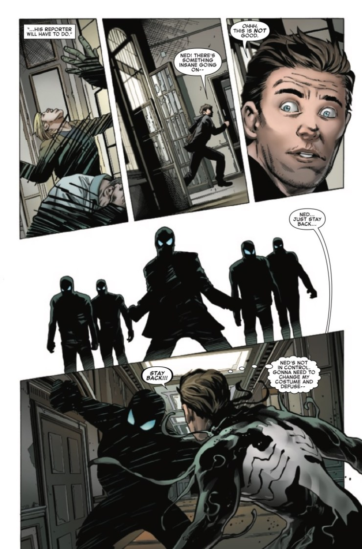 Marvel Preview: Symbiote Spider-Man: King In Black #1
