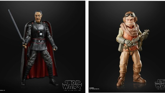 Mando Monday: Black Series Kuiil, Moff Gideon, and Greef Karga officially revealed