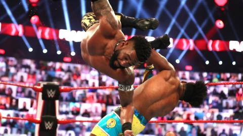 Cedric Alexander and Xavier Woods on Raw