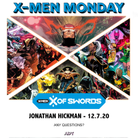X-Men Monday Call for Questions - Jonathan Hickman