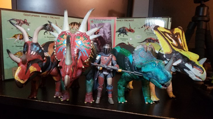 Ceratopsian Series Wave 1 Review - Beasts of the Mesozoic