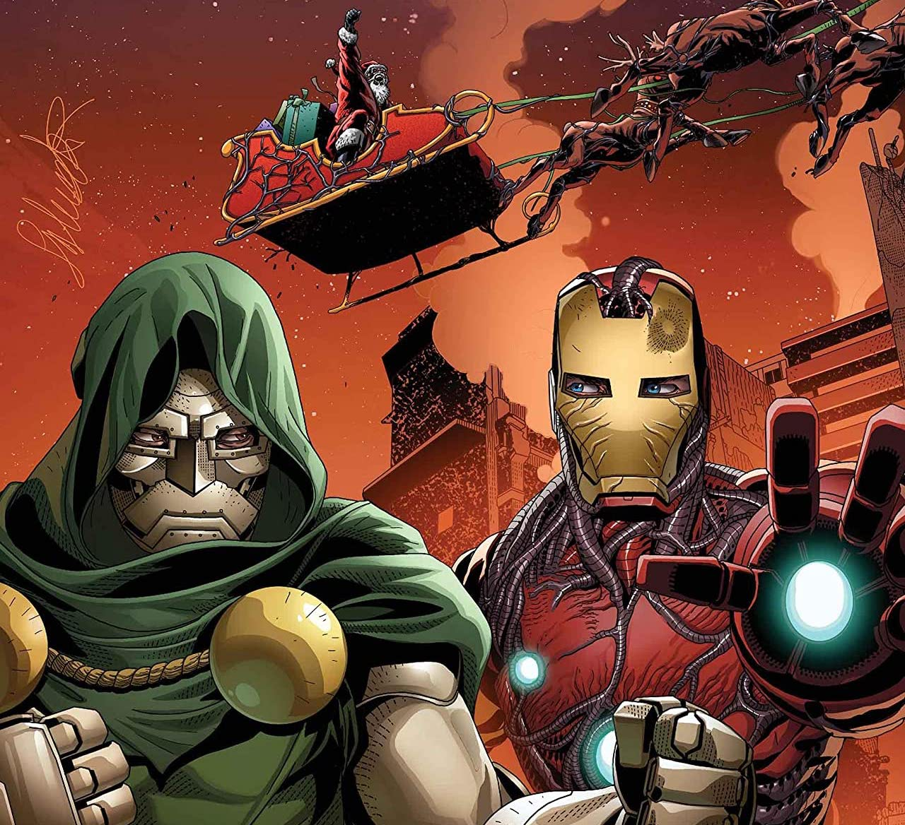 'King in Black: Iron Man/Doom' #1 review