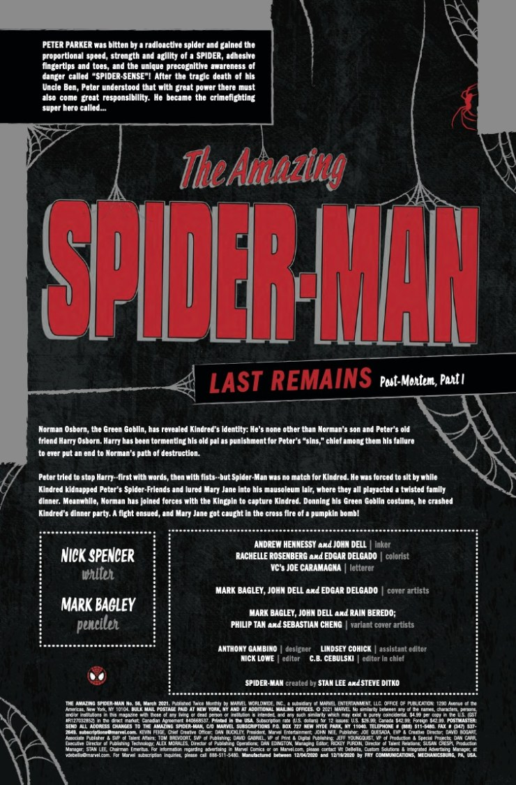 Marvel Preview: Amazing Spider-Man #56