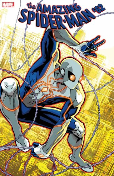 Marvel Comics reveals Spider-Man's new costume in 2021 Dustin Weaver