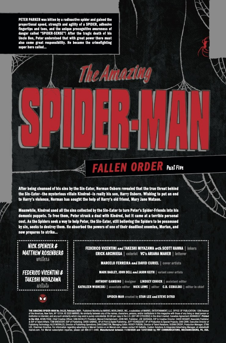 Marvel Preview: Amazing Spider-Man #54.LR