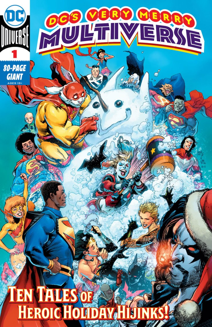 DC Preview: DC's Very Merry Multiverse #1