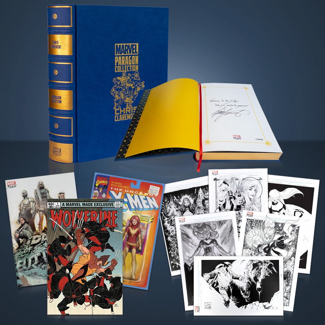 Five takeaways from the 'Marvel Made Paragon Collection: Chris Claremont Premiere Bundle'