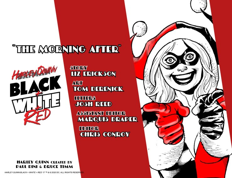 DC Preview: Harley Quinn Black + White + Red #17
