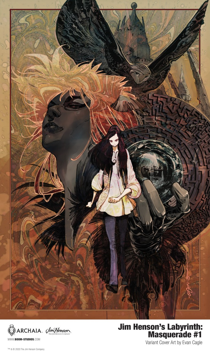 BOOM! Preview: Jim Henson's Labyrinth: Masquerade #1