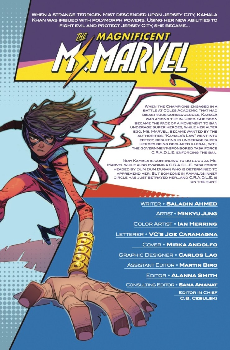 Marvel Preview: Magnificent Ms. Marvel #17