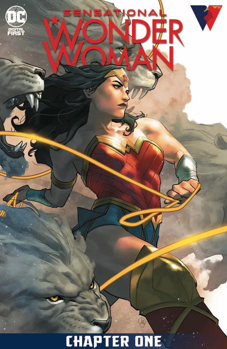 DC Comics celebrates Wonder Woman's 80th with 'Sensational Wonder Woman'