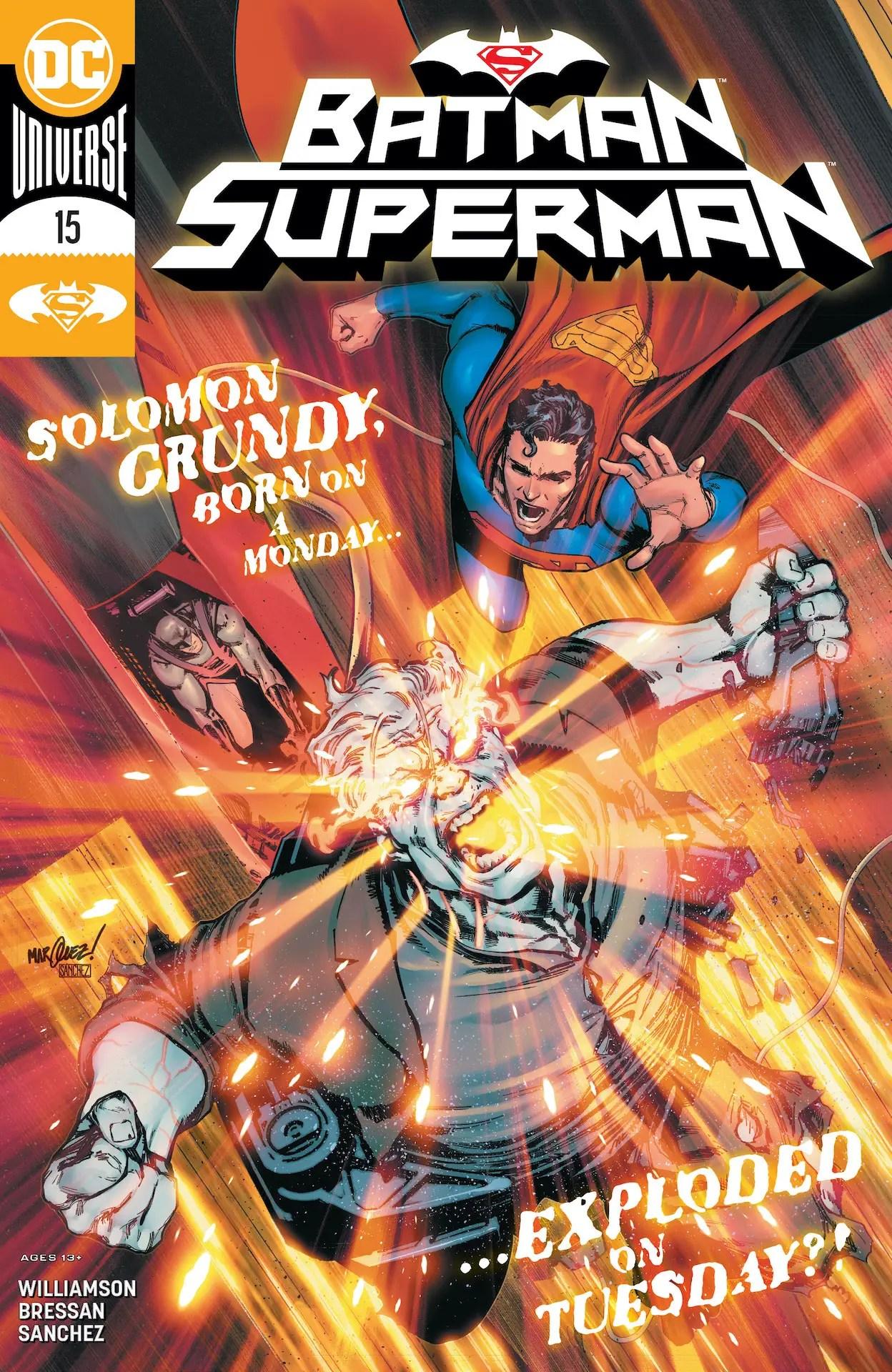 'Batman/Superman' #15 review