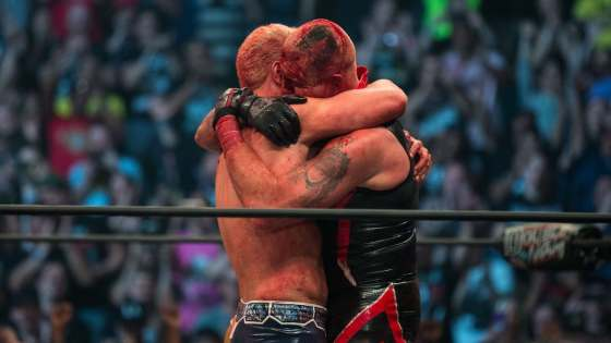 Tenderness and sincerity in pro wrestling