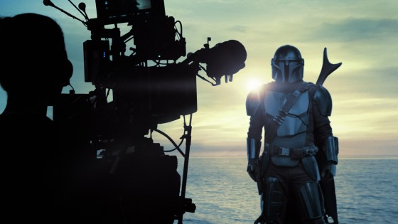 Go behind the scenes of 'The Mandalorian' season 2 on Disney+ Christmas Day
