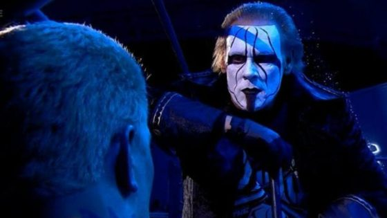 Sting confronts Darby Allin - PTW Wrestling podcast