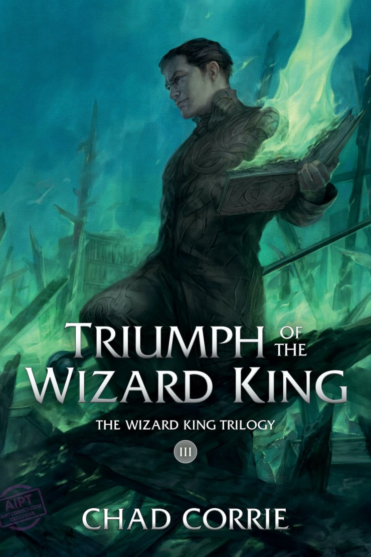 EXCLUSIVE First Look: Trial of the Wizard King Vol. 3 cover reveal